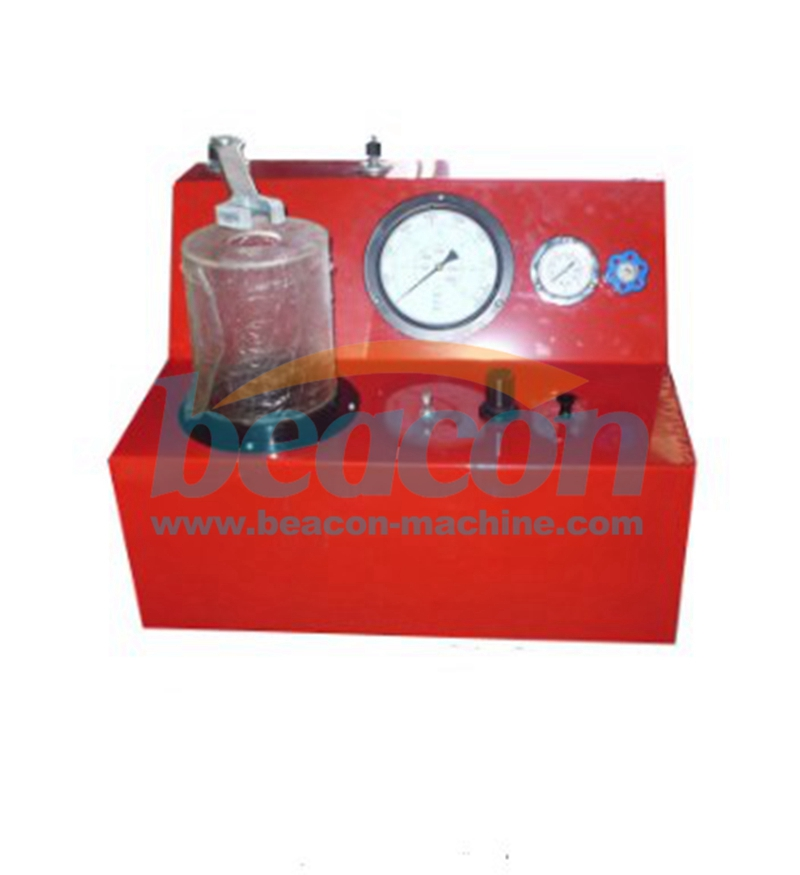 PQ400 double spring CRDI Diesel Injector nozzle test machine