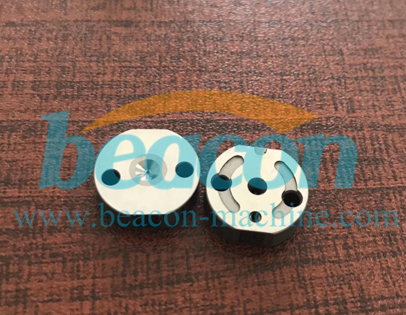 Common rail injector spare parts control valve plate 170401655